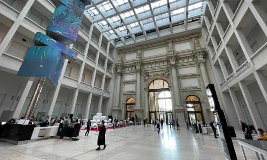 Grand designs … the Forum's atrium.
