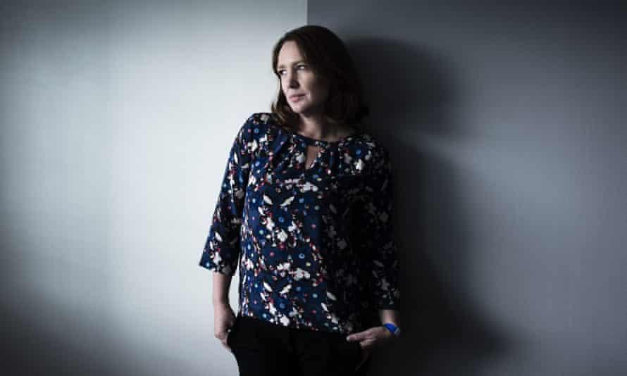 British author Paula Hawkins, September 2015
