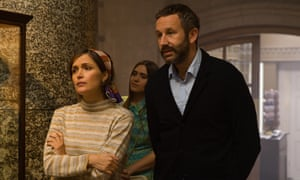 Rose Byrne and Chris O'Dowd in Juliet, Naked.