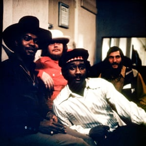 Booker T & the MGs, including Booker T Jones, Steve Cropper and Donald (Duck) Dunn