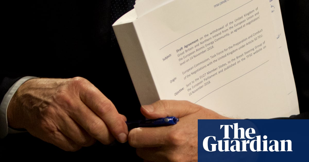 Brexit Deal Key Points From The Draft Withdrawal Agreement