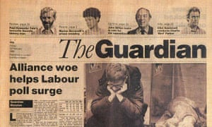 First issue of the 1988 new-look Guardian, designed by David Hillman