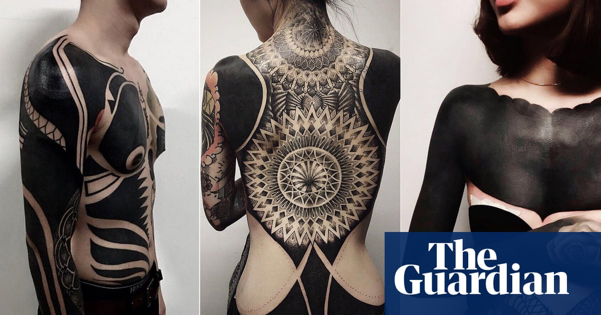 Dark art: the rise of the blackout tattoo | Fashion | The Guardian