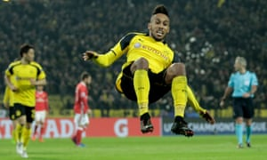 Pierre-Emerick Aubameyang faced three international suspensions while at Dortmund, before moving to Arsenal for £56m.