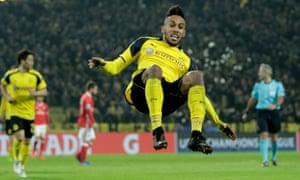 Pierre-Emerick Aubameyang has been at Borussia Dortmund since 2013.