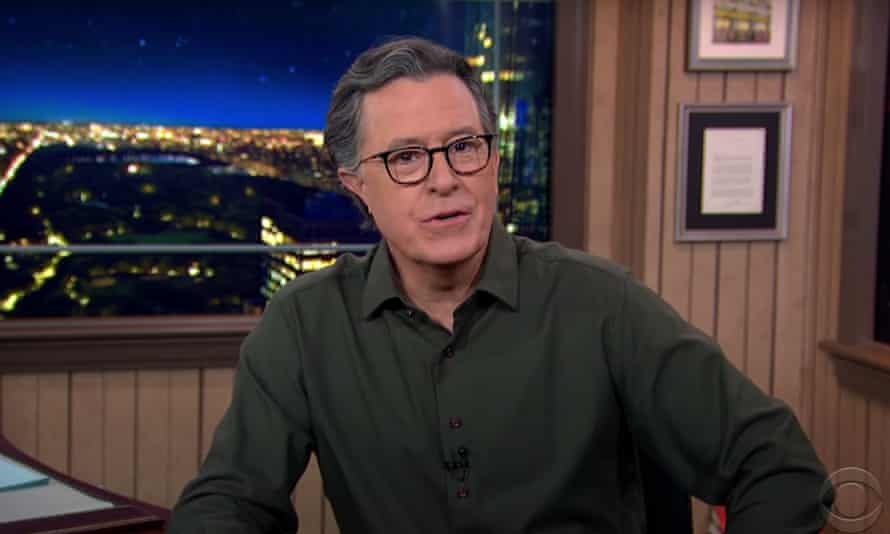 Stephen Colbert: 'Like everything else in his administration, it's a race between autocracy and incompetence, and with this crowd, incompetence is Usain Bolt.'
