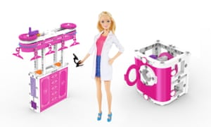 'Engineering Barbie' and her pink projects.