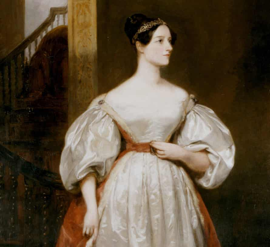 Augusta Ada, Countess Lovelace (1815-1852) English mathematician and writer seen here in a portrait by Margaret Carpenter.