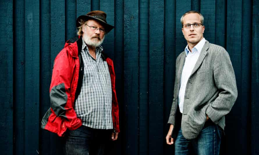 Jens Weise Olsen (left) and Jan Olsen: they have now resigned from Danish Immigration Service.