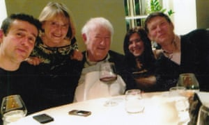 'An affable and benign presence …' Seamus Heaney, centre, with Christopher, Marie, Catherine and Michael.