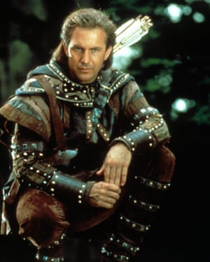 Kevin Costner in Prince of Thieves.