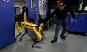 Net migration of eu nationals to britain falls by 75000 uk news boston dynamics is teaching its robot dog to fight back against humans sciox Image collections