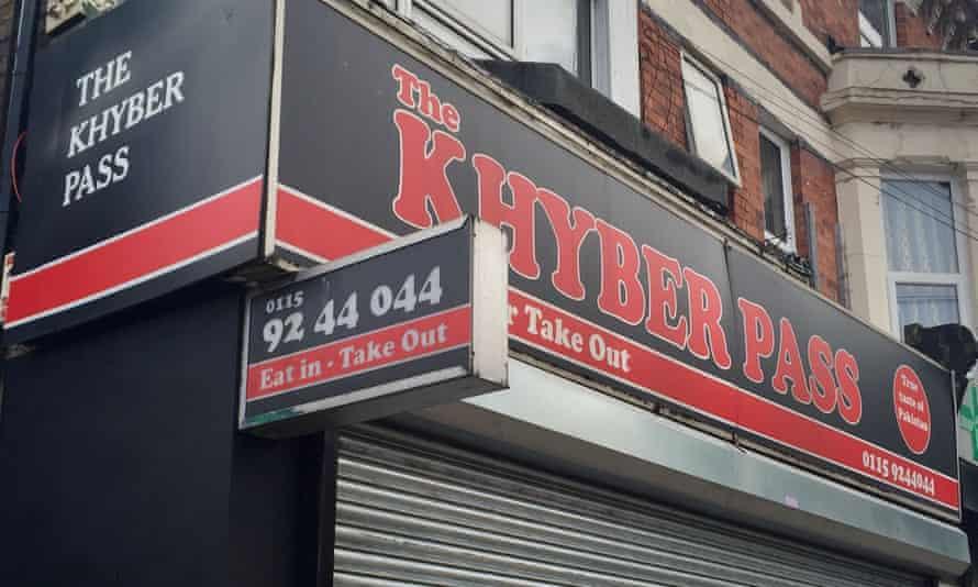 The Khyber Pass restaurant, where customers got E coli.