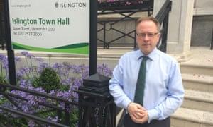 Richard Watts, head of Islington council