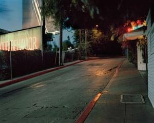 Helmut Newton Marmont Lane - Los Angeles (California)