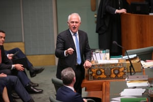Prime Minister Malcolm Turnbull makes a passionate speech as the bill to amend the marriage act passes through the House of Representatives.