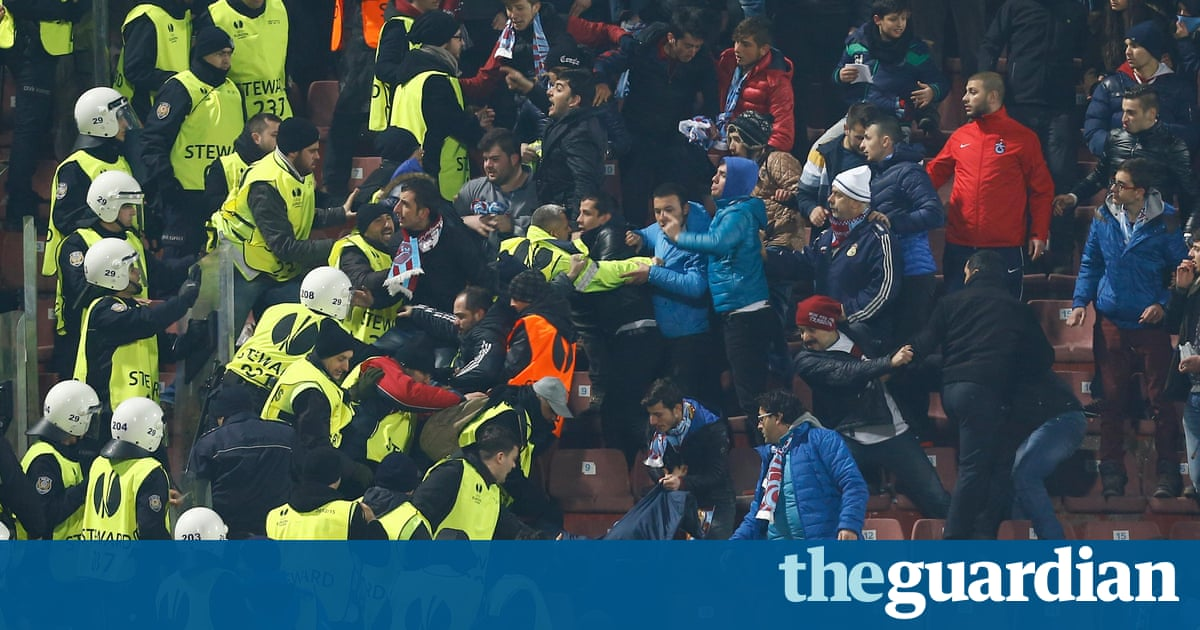 Trabzonspor v Fenerbahce called off after fan assaults ...