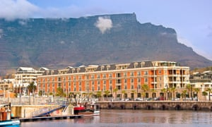 The Cape Grace hotel on the waterfront in Cape Town, South Africa.