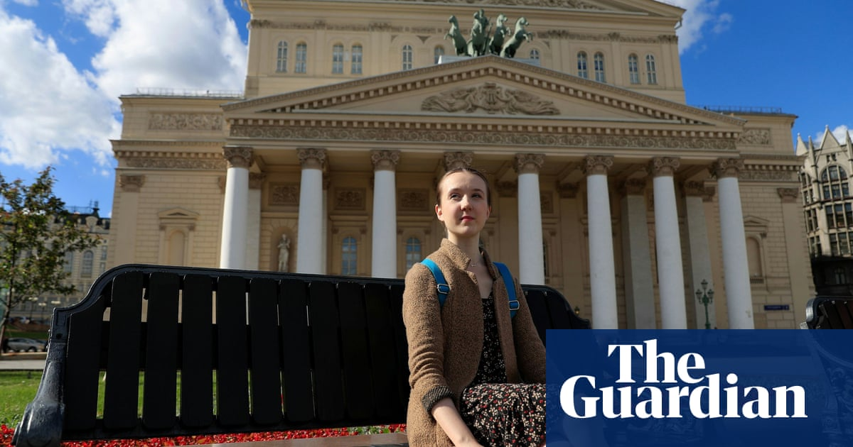 British ballerina at the Bolshoi Ballet Academy, Moscow – in pictures
