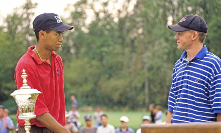Tiger Woods and Steve Scott at the 1996 US Amateur Championship