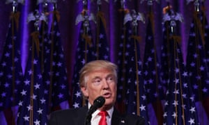When the moment came, and Donald Trump presented himself as the next US president, he did it in classic style: he didn't appear presidential.