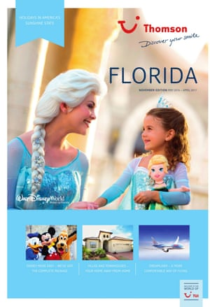 2016 Thomson Florida brochure