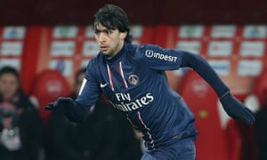 Javier Pastore Played For Psg From