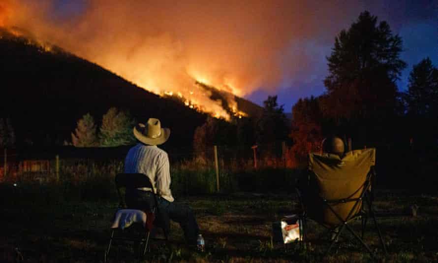 The Embleton Mountain wildfire