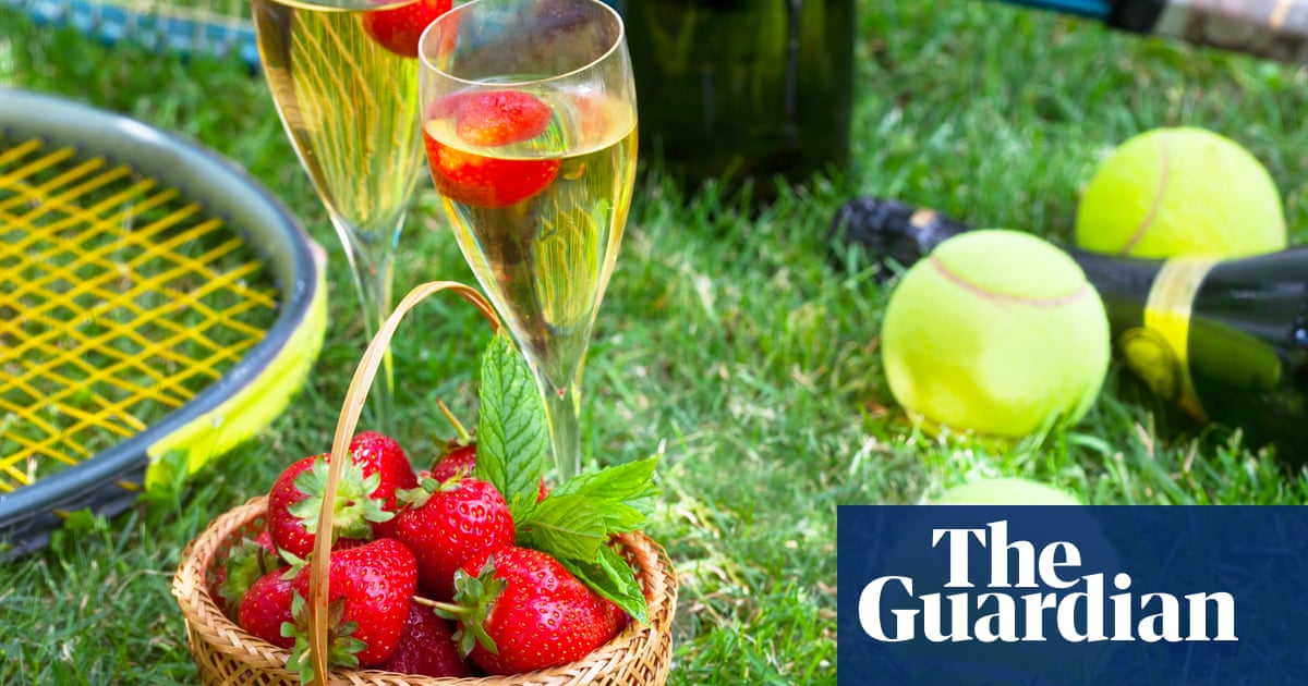 Supermarkets sell out of strawberries. Pimm's flows freely. Ace! It must be Wimbledon