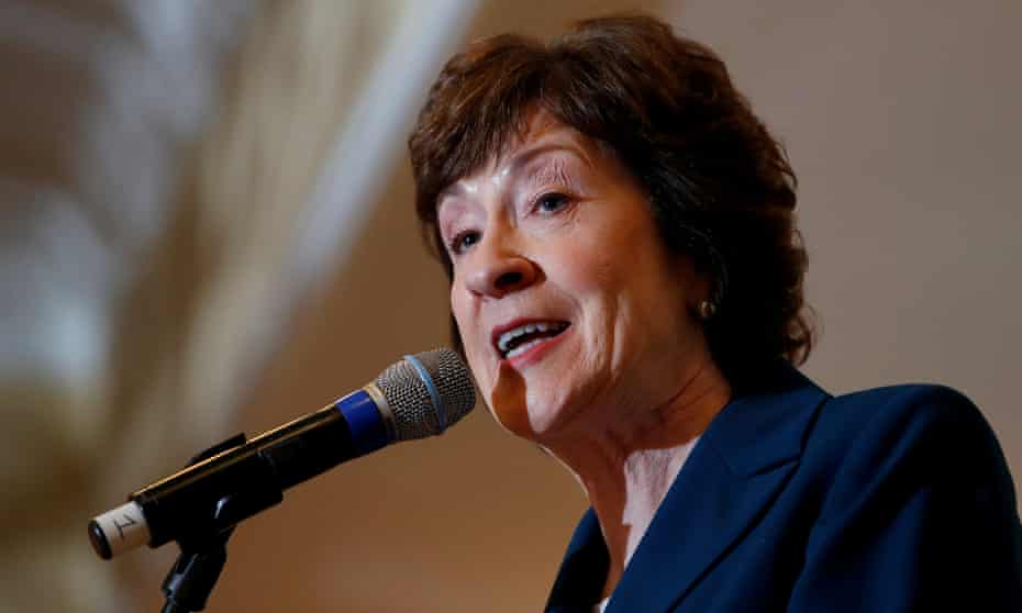 Senator Susan Collins, Republican of Maine. Planned Parenthood scorecard for support for women's health: 70%.