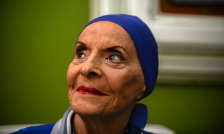 Alicia Alonso at a press conference in 2012 in Havana.