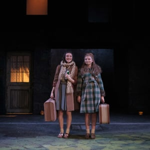Grace Molony and Genevieve Hulme-Beaman in Chichester festival theatre's 2017 production of Edna O'Brien's The Country Girls.