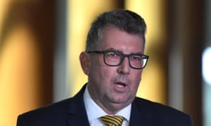 Keith Pitt, the federal resources minister