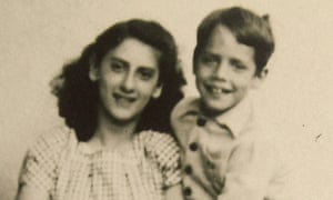Markus Imhoof, with Giovanna, the Italian refugee girl his family looked after during the second world war, whose story provides Eldorado's jumping-off point.