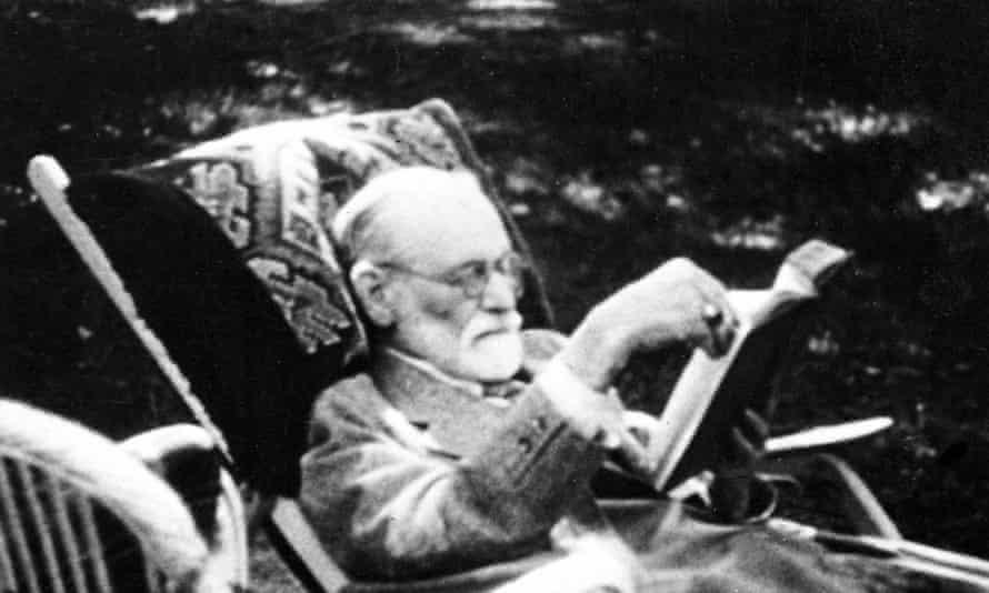 Sigmund Freud in London, 1939.