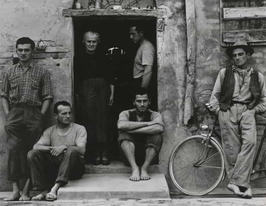 The Lusetti Family, Luzzara (1953) by Paul Strand.