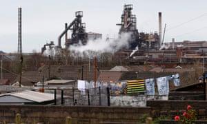 Port Talbot's steel plant