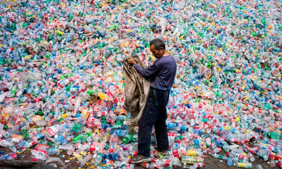 A recycling centre outside Beijing, China.