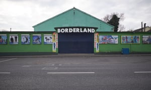 Borderland, in the village of Muff in Donegal near the border between Donegal and Derry.