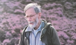 Charles Gimingham on the Muir of Dinnet, Aberdeenshire, in 1993.
