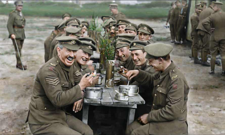 A still from They Shall Not Grow Old