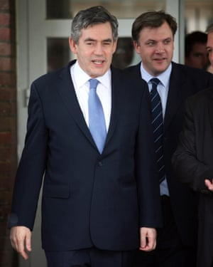 Ed Balls with Gordon Brown, then prime minister, in 2007.