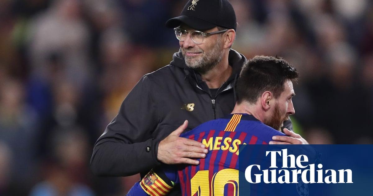 No chance of Liverpool signing Lionel Messi, says Jürgen Klopp