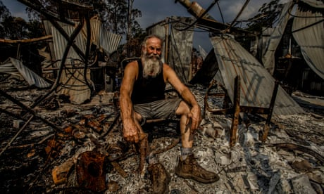 Sifting through the ashes: Mallacoota residents after the bushfires – in pictures
