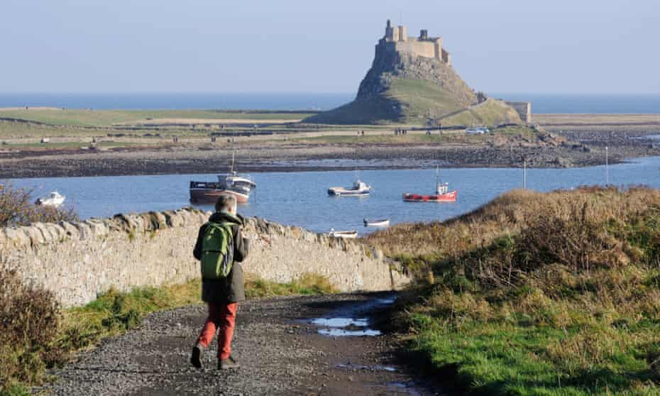 Holy Island with Lindisfarne Castle