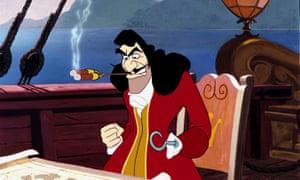 Captain Hook in Peter Pan