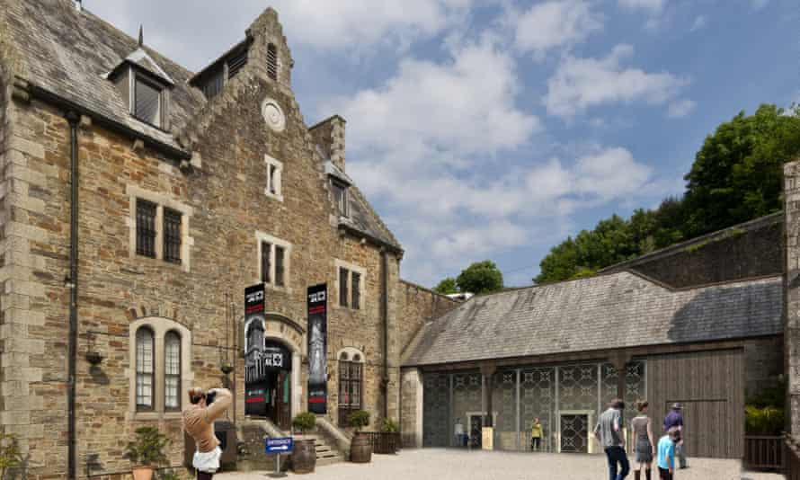Bodmin Jail entrance CGI