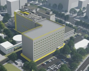 How the planned hospital will look