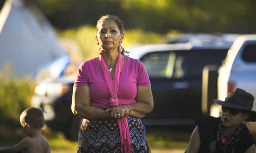 LaDonna Brave Bull Allard, founder of the Sacred Stone camp.