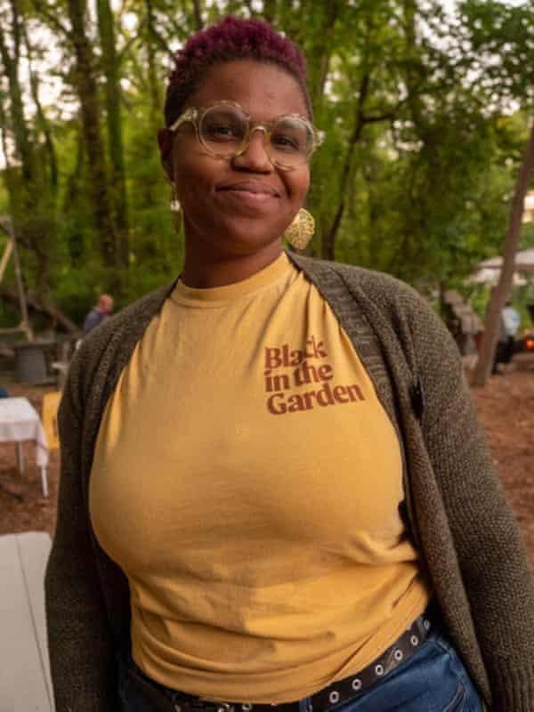 Colah B Tawkin, of Black in the Garden podcast.